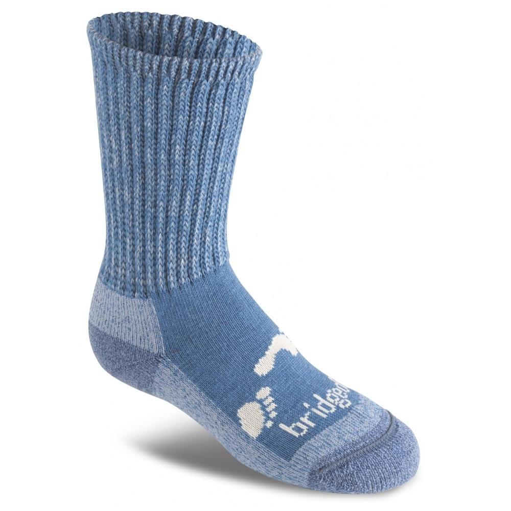 Bridgedale BoysandGirls Woolfusion Trekker Durable Socks Junior L - Uk 1-3 (eu 34-36  Us 2-4)