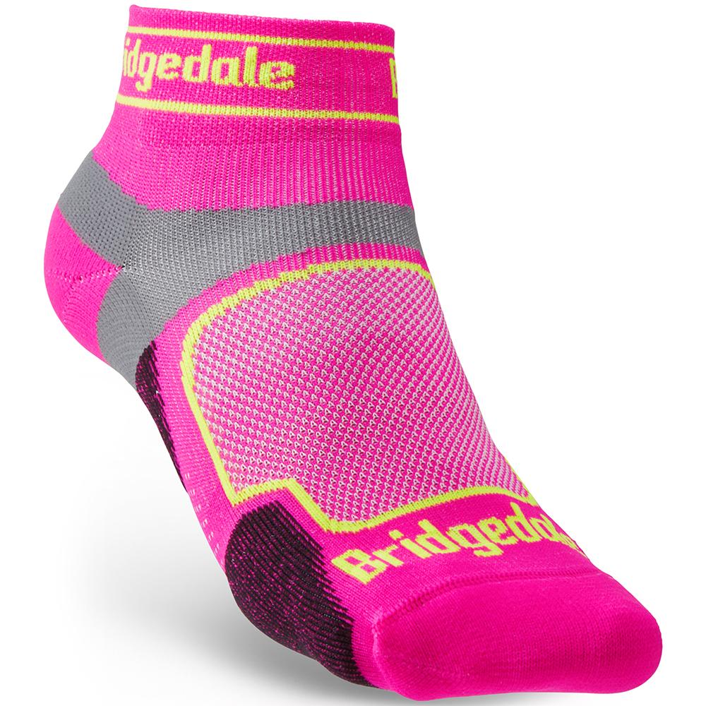 Bridgedale Womens Trail Run Ultra Light T2 Coolmax Low Socks Small - Uk 3-4.5 (eu 35-37)