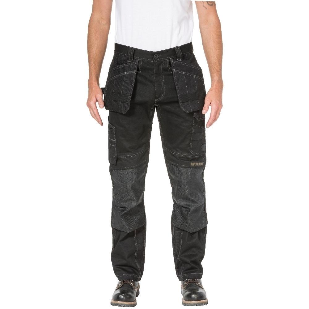 Carhartt Mens Stretch Duck Double Front Rugged Work Trousers Waist 33 (84cm)  Inside Leg 34 (86cm)