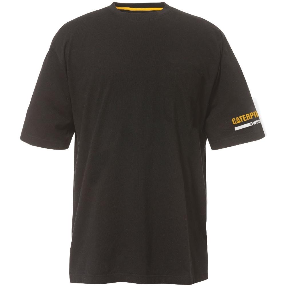 Caterpillar Mens Flex Layer Long Sleeved Raglan T Shirt Black