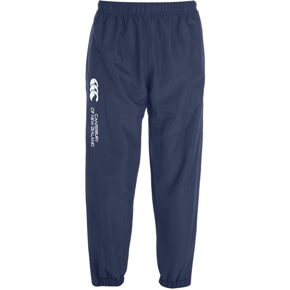 Canterbury Boys CCC Logo Cuffed Hem Stadium Tracksuit Pants / Bottoms 6 - Waist 22-23' (56-58.5cm)