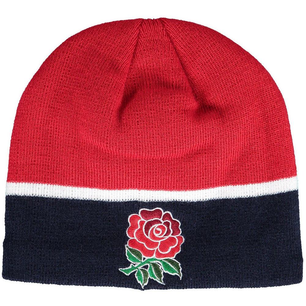 Product image of Canterbury Mens England Plain Acrylic Logo Sports Beanie Hat One Size