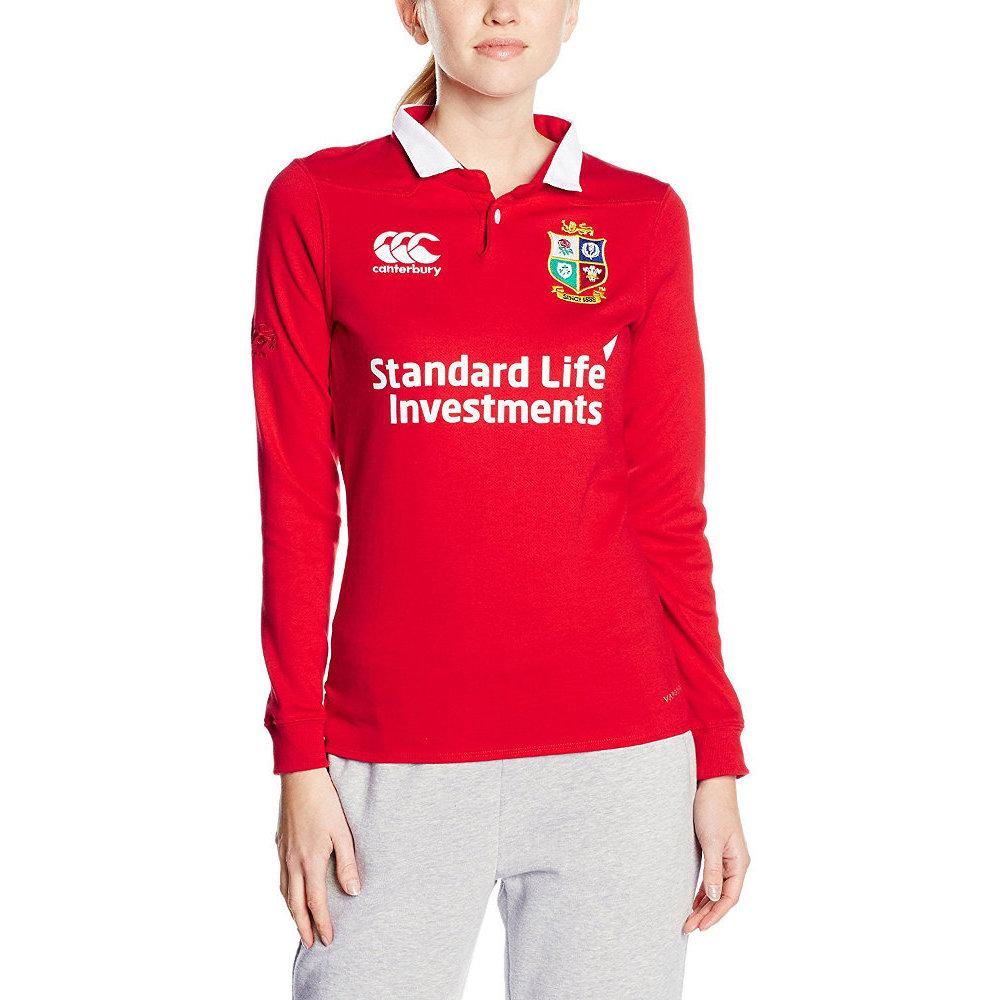 British & Irish Lions Womens/Ladies Vapodri Wicking Long Sleeve Jersey 10 - Chest 34' (87cm)