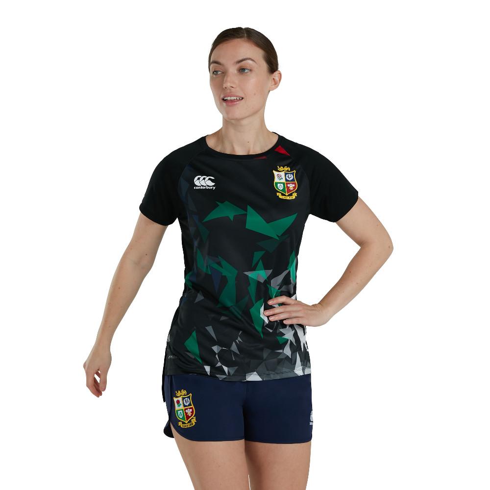 British & Irish Lions Womens Super Lightweight T Shirt UK 10- Bust 34', (87cm)