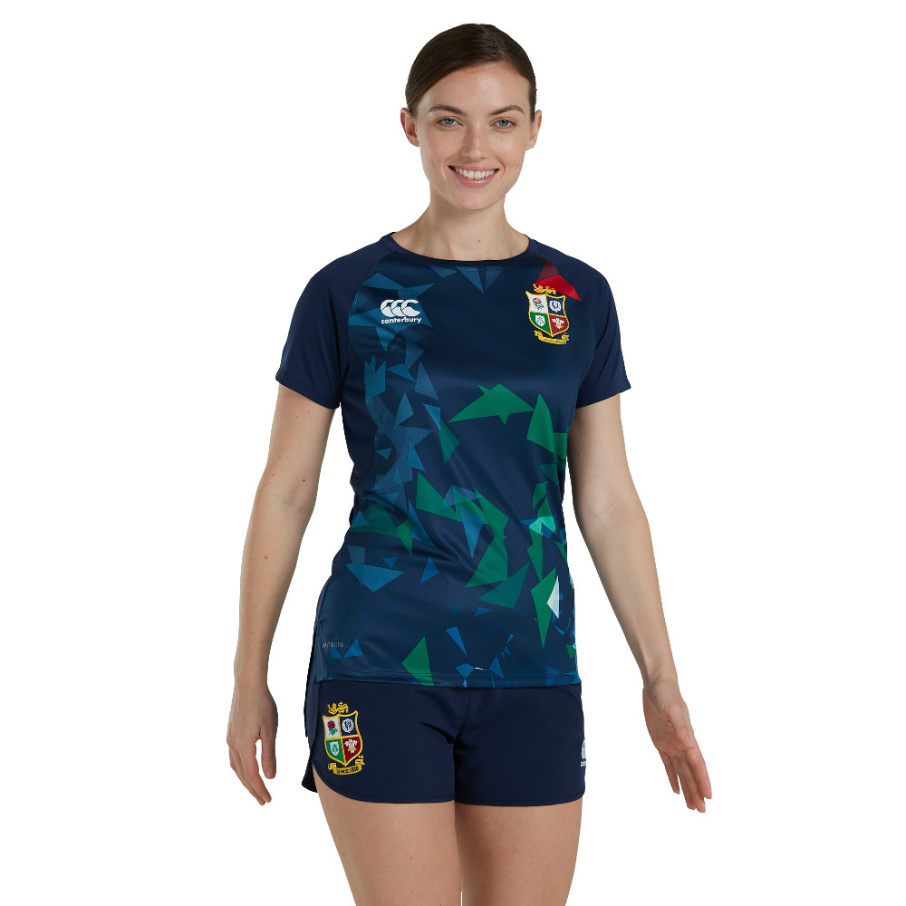 British & Irish Lions Womens Super Lightweight T Shirt UK 8- Bust 32', (82cm)