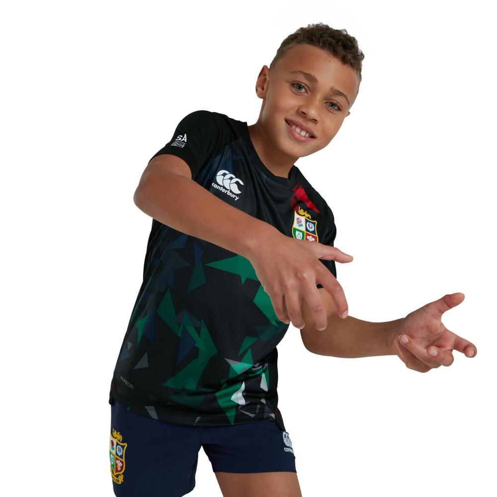 British & Irish Lions Boys Super Lightweight Graphic T Shirt 8 - Chest 25-26' (63.5-66cm)