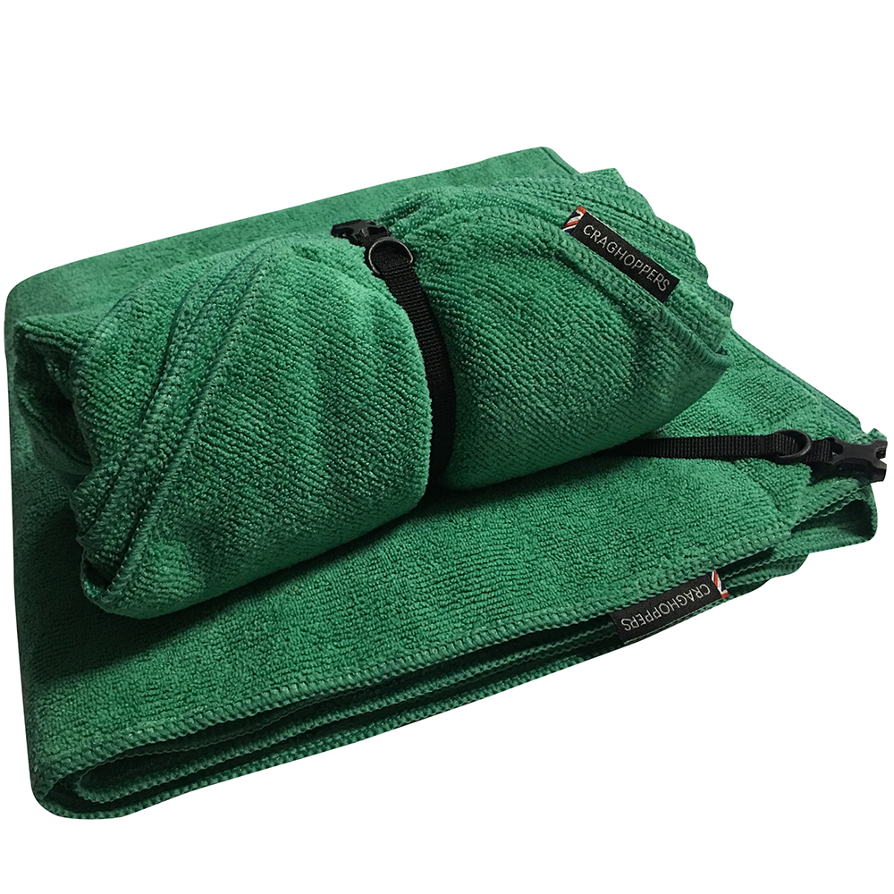 Craghoppers Mens Travel Polyester Towel Camping Large One Size