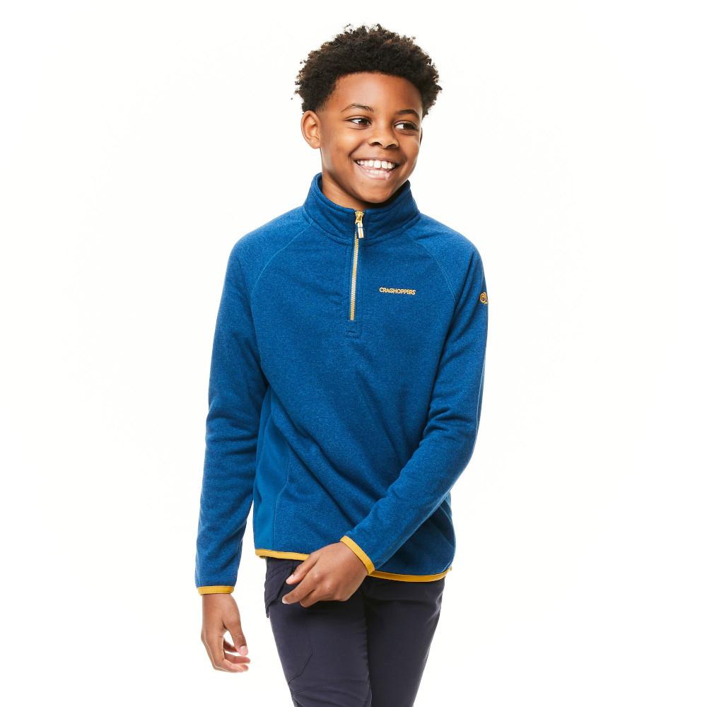 Craghoppers BoysandGirls Gibb Half Zip Fleece Jacket 11-12 Years - Chest 29.5-31 (75-79cm)