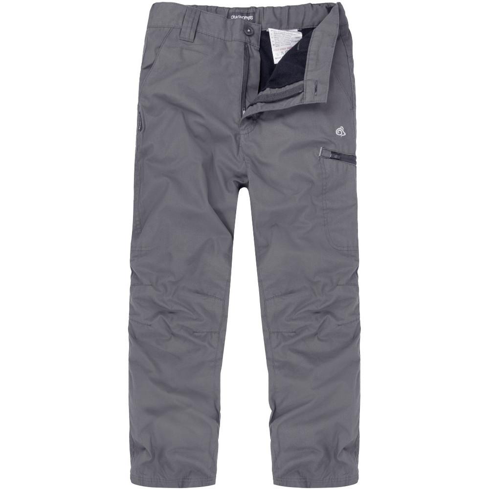 Craghoppers Boys & Girls Winter Lined Kiwi Walking Trousers