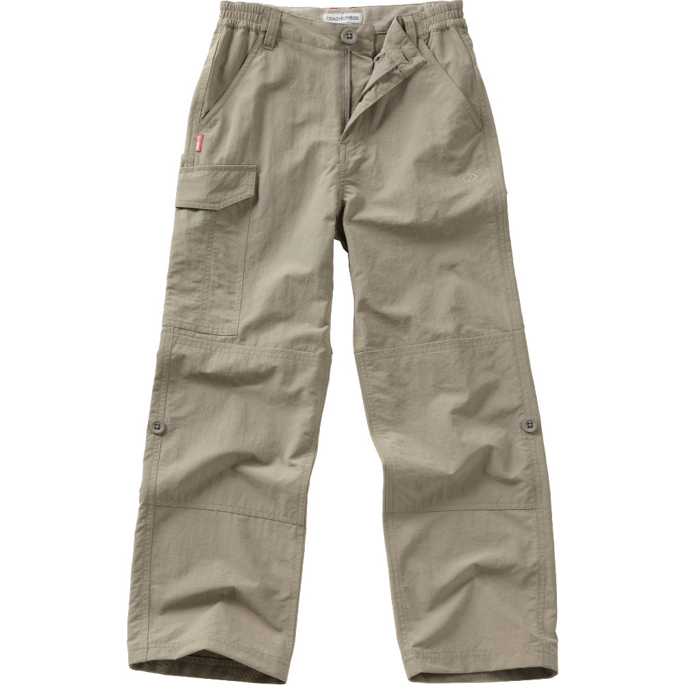 Craghoppers Boys NosiLife Cargo Travel Walking Trousers