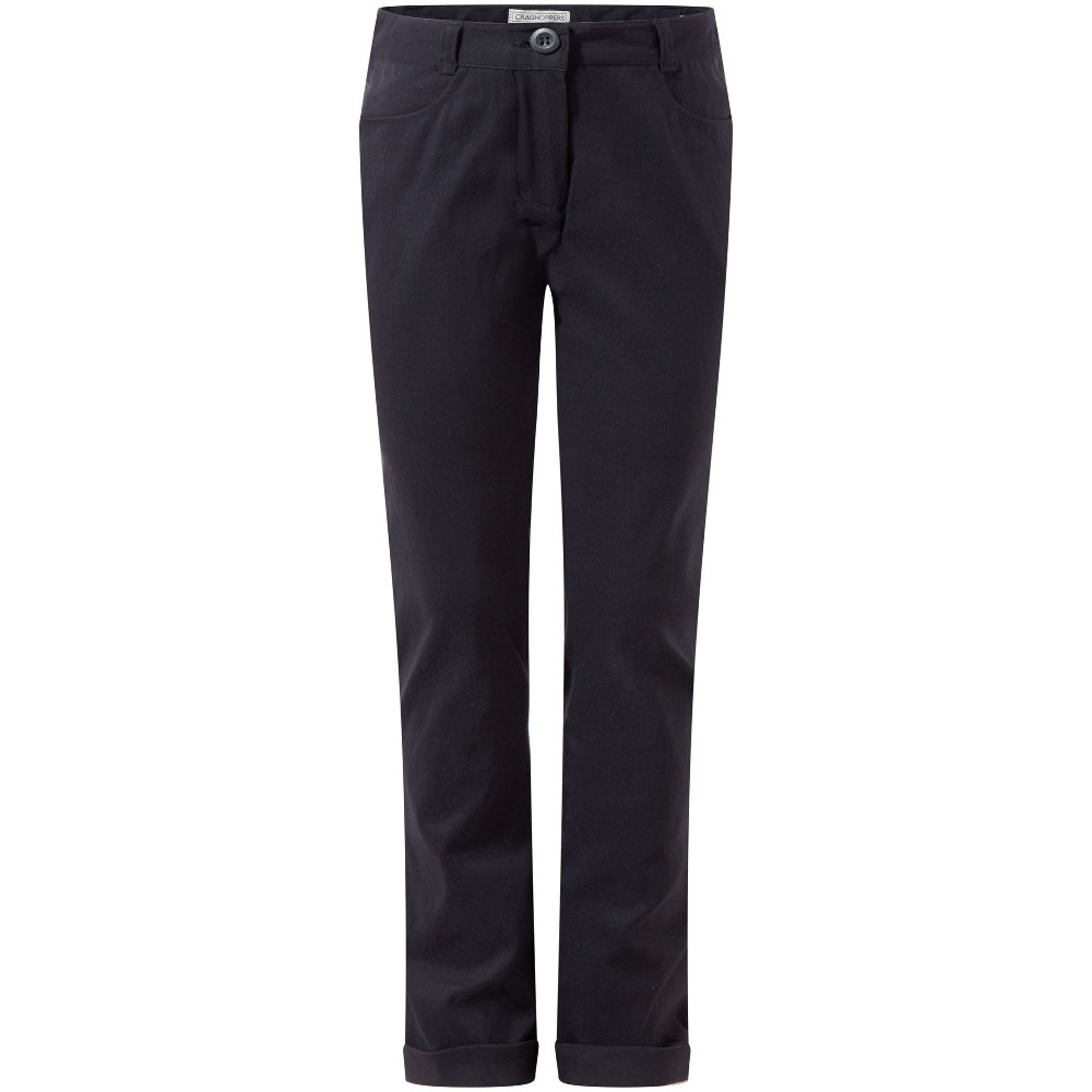 Craghoppers Girls Dunally Stretchy Smart Travel Walking Trousers 11-12 years - Waist 25-26.5' (65-67cm)
