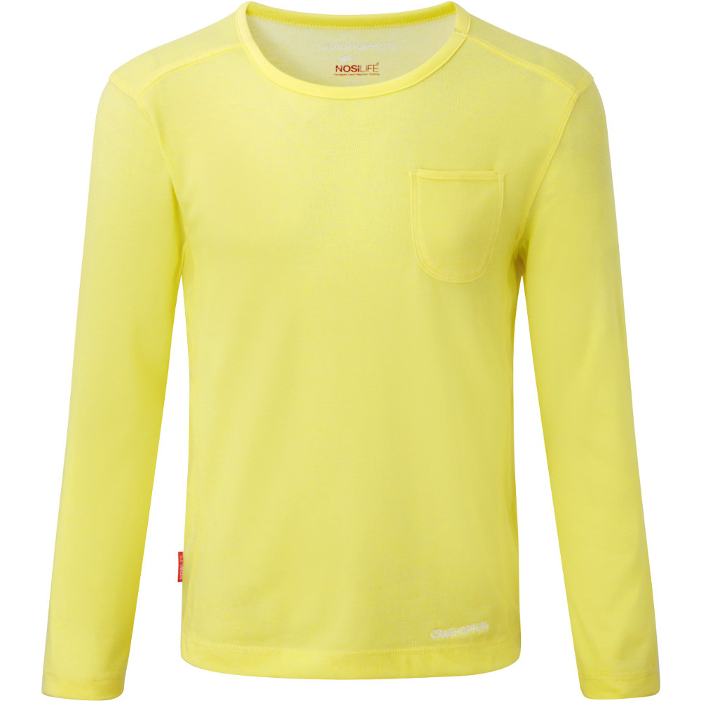 Product image of Craghoppers Girls NosiLife Louise Cool Lightweight Travel T-Shirt 11-12 years - Chest 35' (89cm)