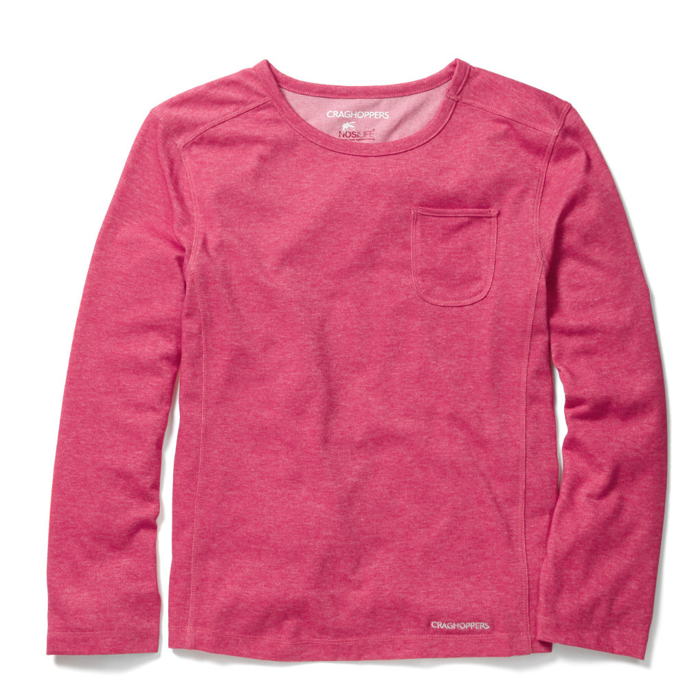 Product image of Craghoppers Girls NosiLife Louise Cool Lightweight Travel T-Shirt 9-10 years - Chest 32.5' (82.5cm)