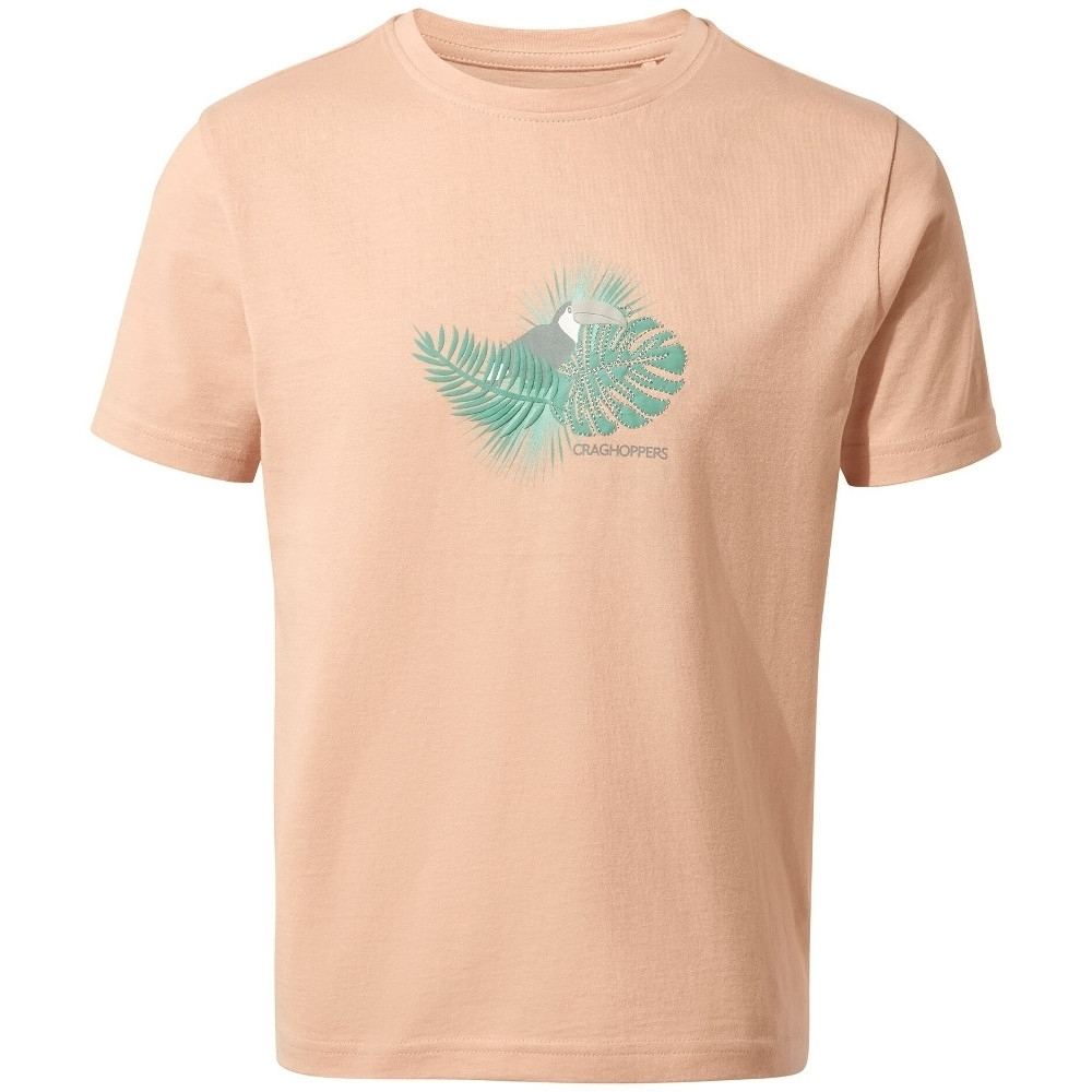 Craghoppers Girls Olga Relaxed Fit Casual Graphic T Shirt 9-10 Years- Chest 27.25-28.75  (69-73cm)