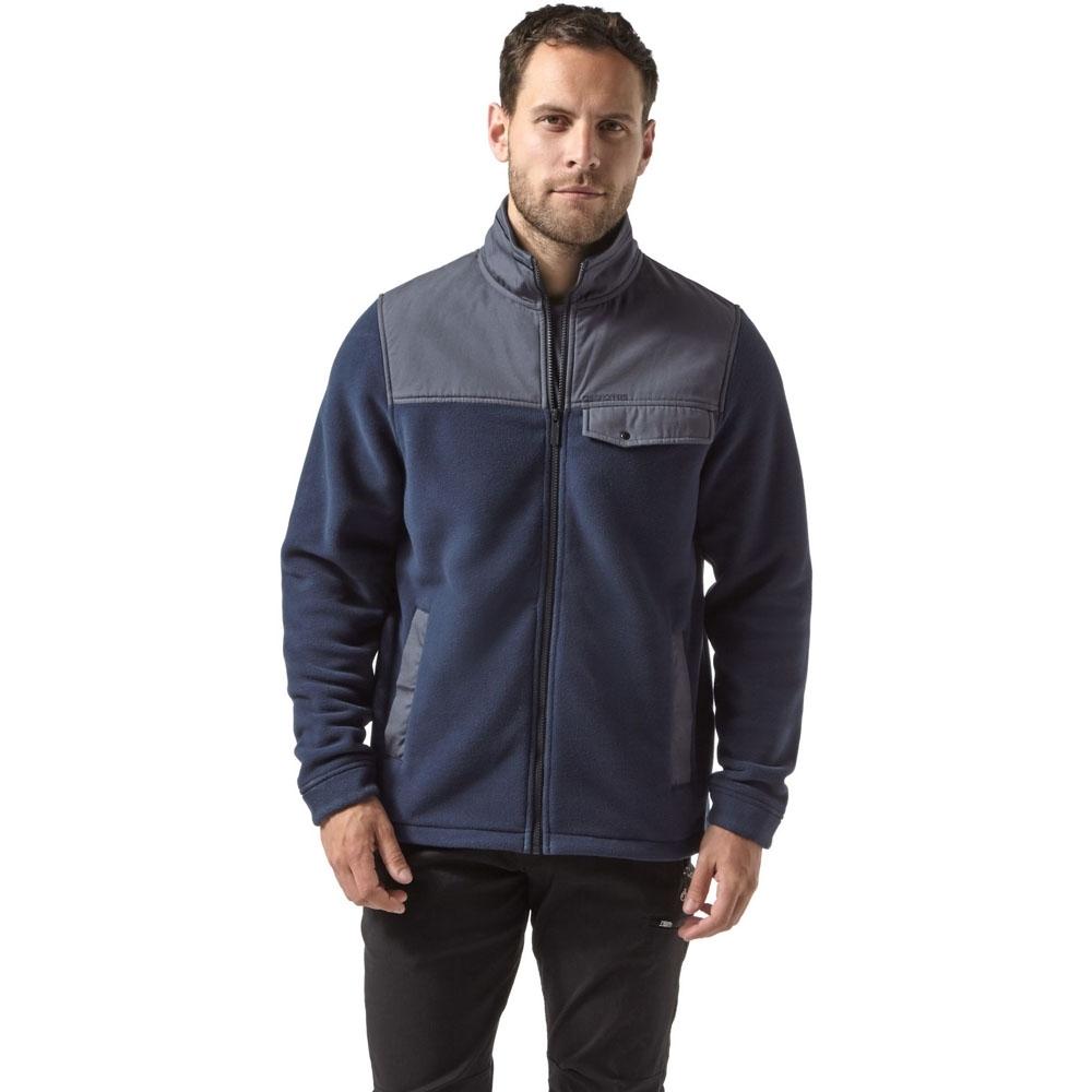Image of Craghoppers Mens Thurso Polartec Insulated Fleece Jacket L - Chest 42' (107cm)