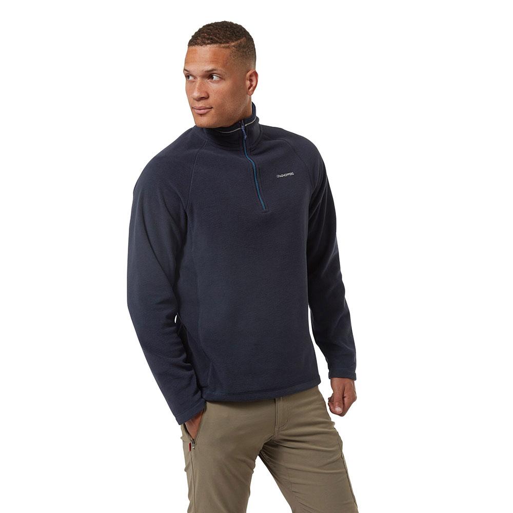 Craghoppers Mens Corey Half Zip Mico Fleece Jacket M - Chest 40 (102cm)