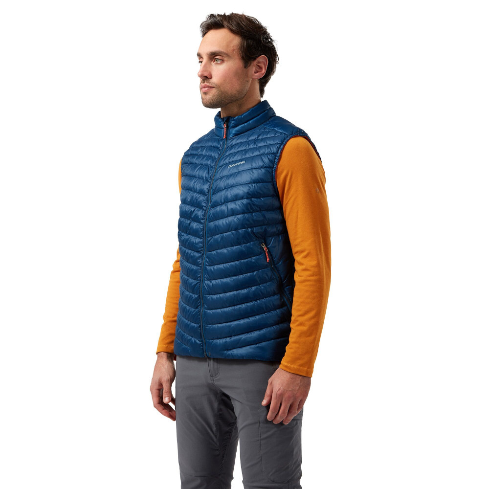 Craghoppers Mens Apex Waterproof Packable Dofe Rain Shell Jacket Xs - Chest 36 (91cm)