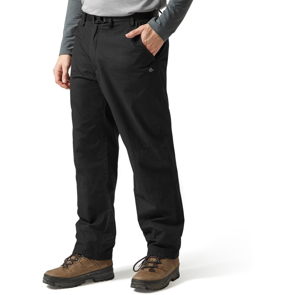 Craghoppers Mens Classic Kiwi Solarshield Polycotton Walking Trousers 26s - Waist 26 (66cm)  Inside Leg 29