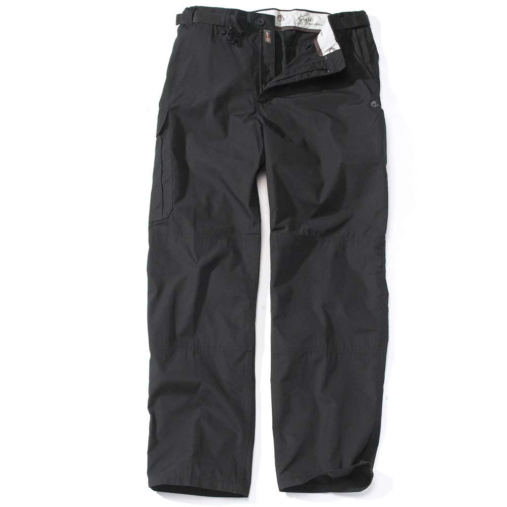 Craghoppers Mens Kiwi Walking Hiking Trousers Black