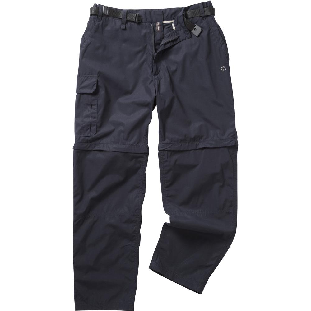 Craghoppers Mens Kiwi Convertible Walking Trousers Navy