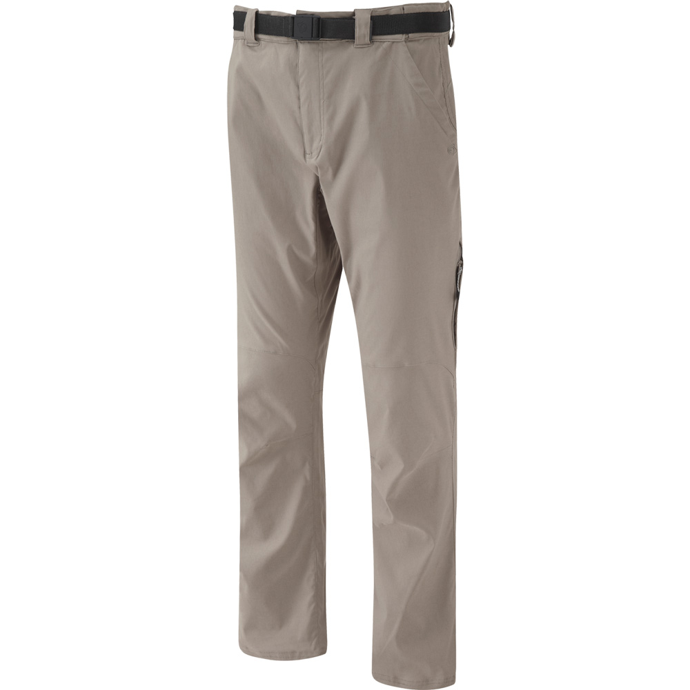 Product image of Craghoppers Mens NosiLife Stretch Travel Trousers Yellow
