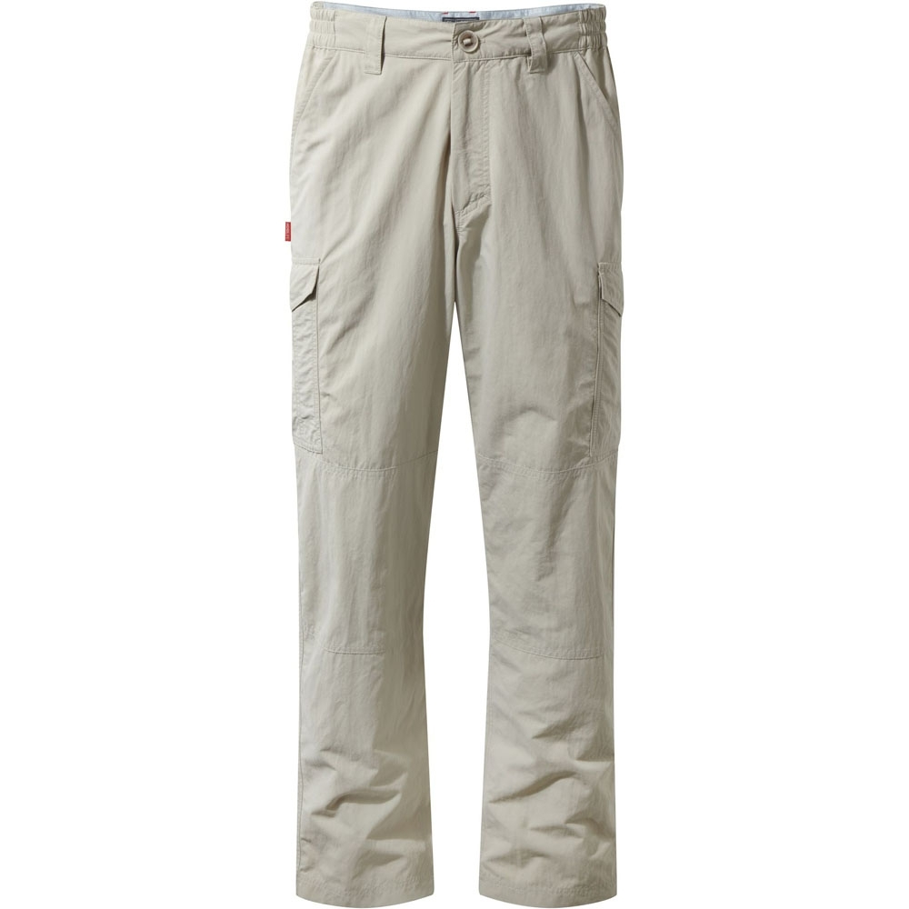 Image of Craghoppers Mens Nosilife Solarshield Wicking Cargo Trousers 32 - Waist 32' (81cm) Inside Leg 31'
