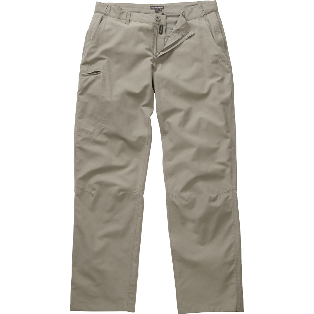 Craghoppers Mens Kiwi Trek Outdoor Walking Trousers Yellow