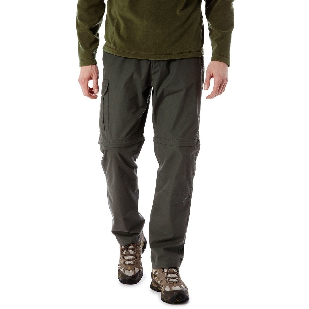 Craghoppers Mens C65 Polyester Convertible Zip Off Trousers