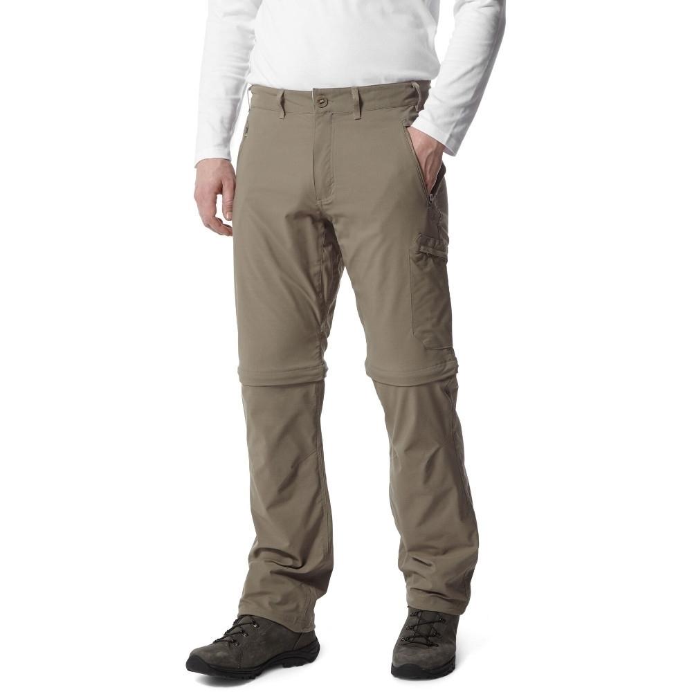 Craghoppers Mens Nosi Life Pro Convertible Zip Off Trousers 32s - Waist 32 (81cm)  Inside Leg 29