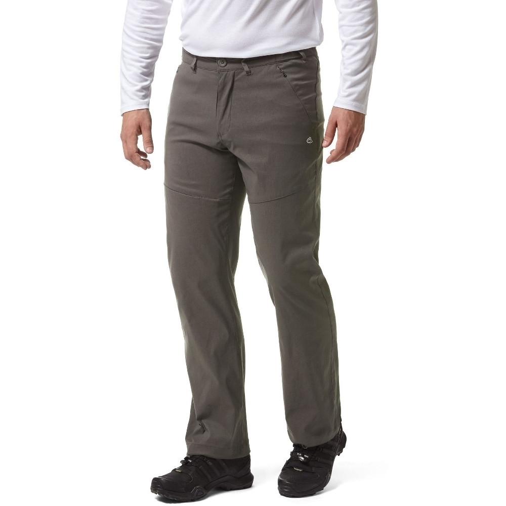 Craghoppers Mens Kiwi Pro Solarshield Walking Trousers 40L - Waist 40' (102cm), Inside Leg 33'