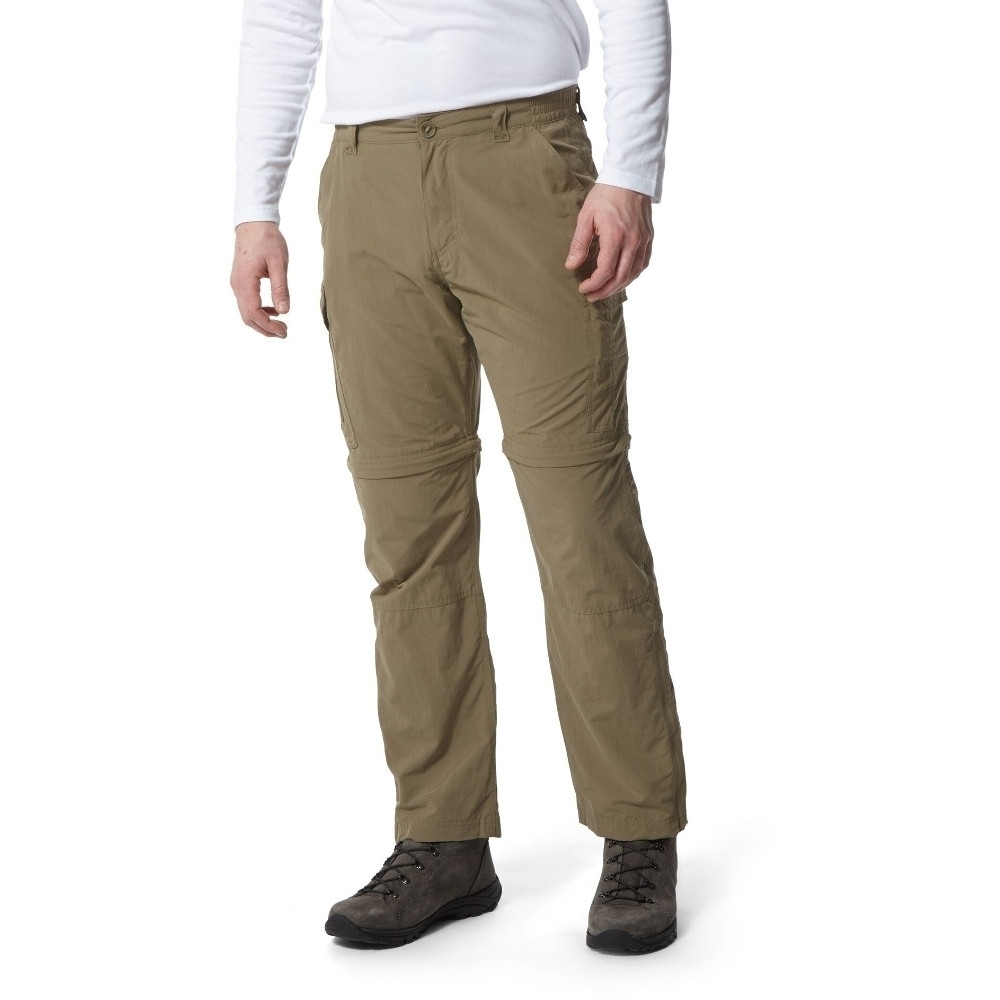 Craghoppers Mens Kiwi Pro Convertible Zip Off Trousers 32l - Waist 32 (81cm)  Inside Leg 33