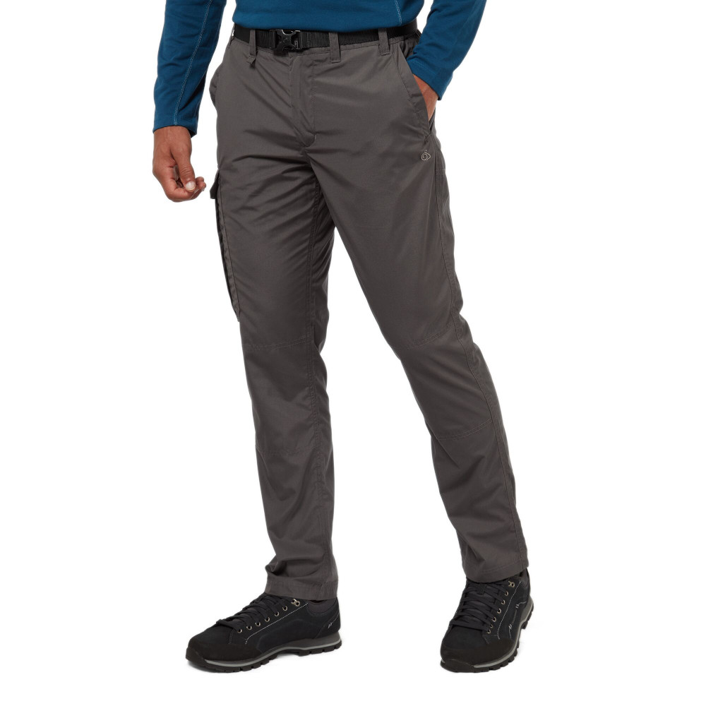 Craghoppers Womens/ladies Kiwi Long Sleeve Polycotton Button Shirt 10 - Bust 34 (86cm)