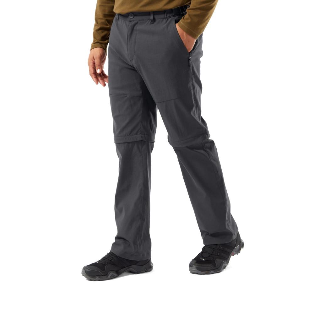 Craghoppers Mens Classic Kiwi Solarshield Polycotton Walking Trousers 38 - Waist 38 (97cm) - Inside Leg 33