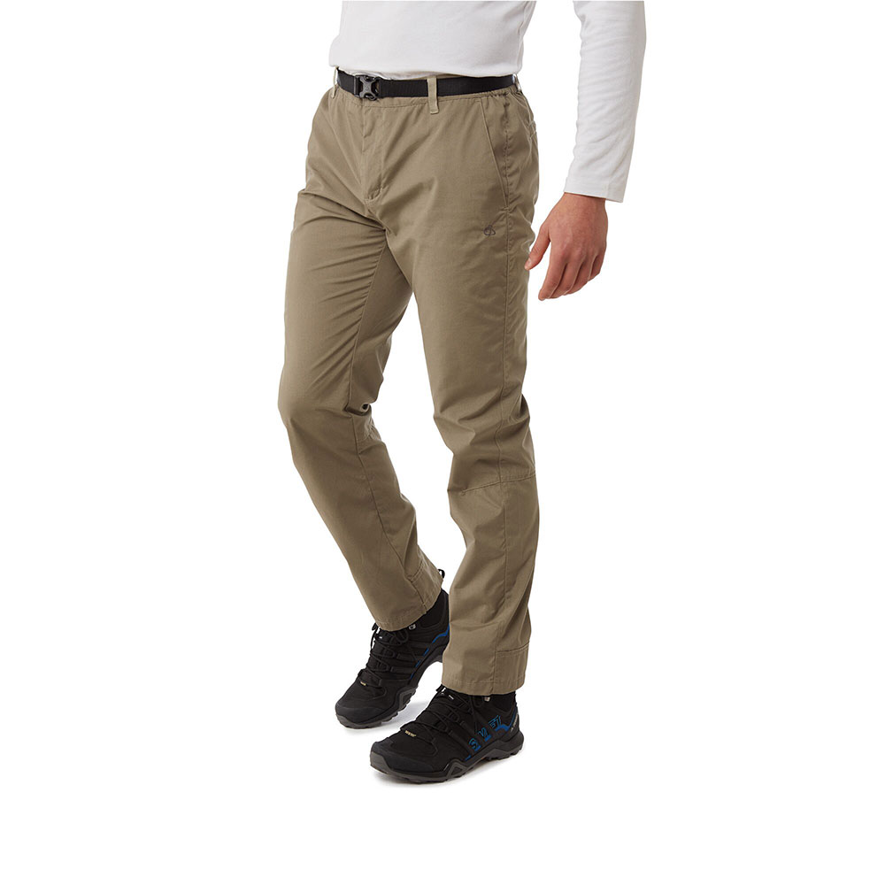 Craghoppers Mens Kiwi Boulder Slim Nosi Defence Trousers 32s - Waist 32 (81cm)  Inside Leg 29
