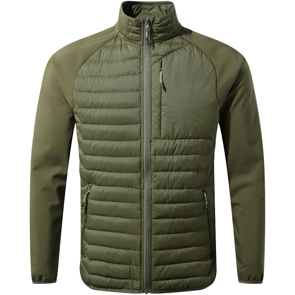 Image of Craghoppers Mens Voyager Full Zip Windproof Hybrid Jacket Top XXL - Chest 46' (117cm)