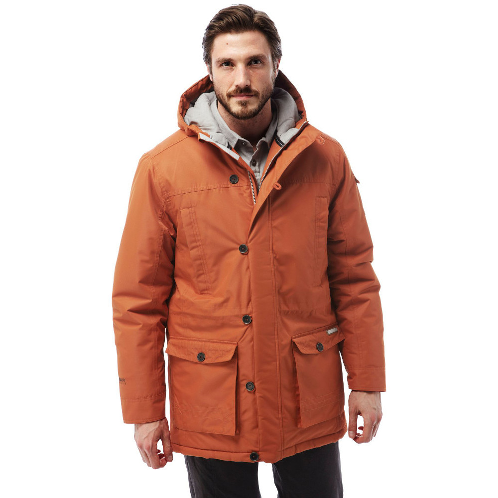 Craghoppers Mens Finch Waterproof Breathable Padded Coat