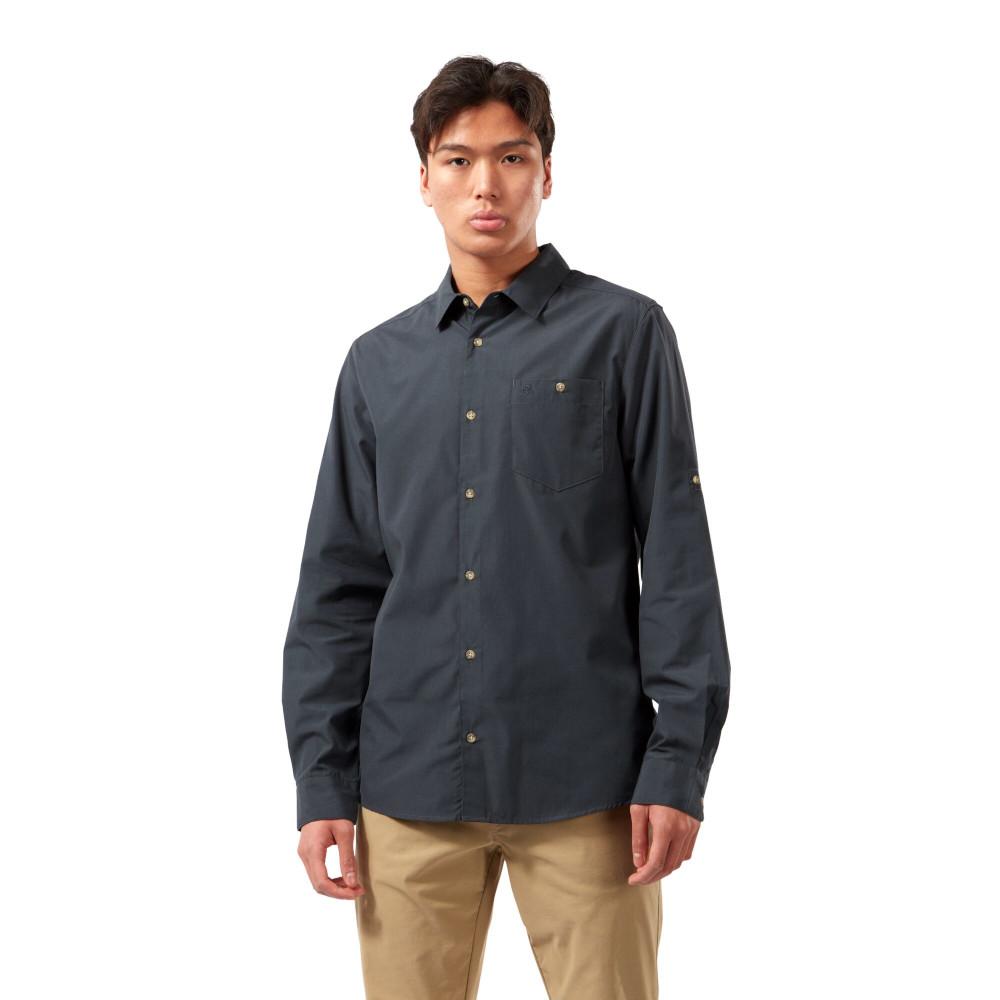 Craghoppers Mens Kiwi Ridge Long Sleeve Walking Shirt S - Chest 38 (97cm)