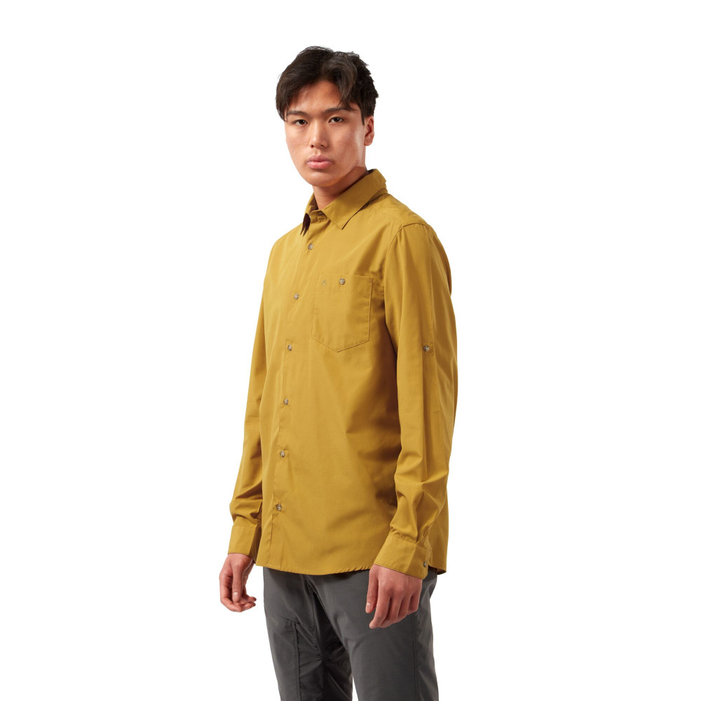 Craghoppers Mens Kiwi Ridge Long Sleeve Walking Shirt Xl - Chest 44 (112cm)