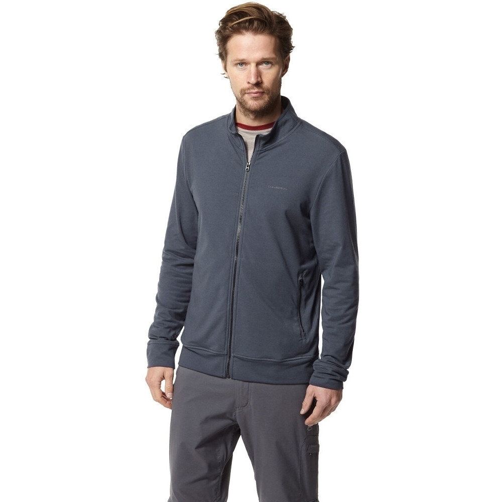 Craghoppers Mens Nosi Life Alba Full Zip Casual Sweater Xl - Chest 44 (112cm)