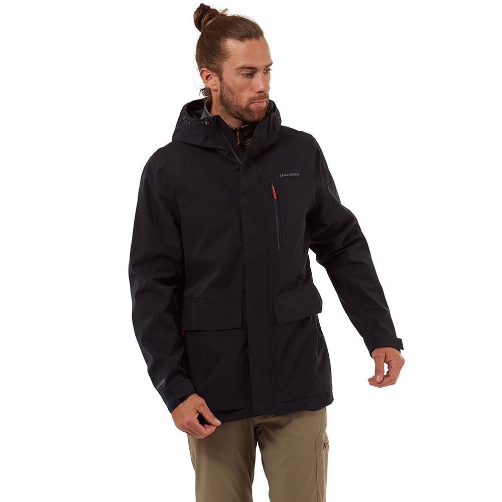 Craghoppers Mens Herston Insulated Waterproof 3 In 1 Jacket Xl - Chest 44 (112cm)