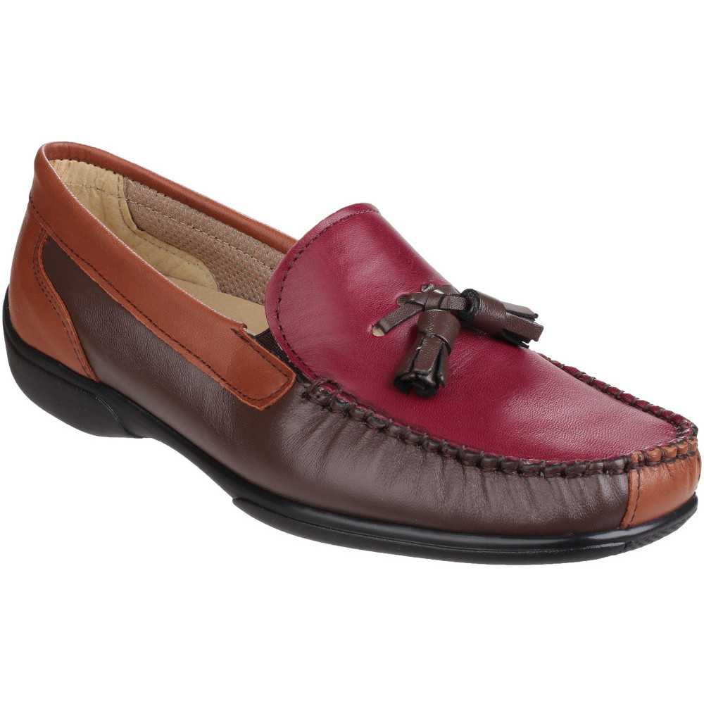 Cotswold Womens/Ladies Biddlestone Slip on Mocccasin Loafer