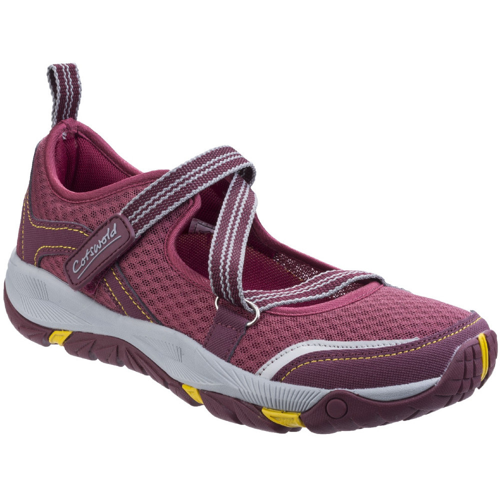 Image of Cotswold Womens/Ladies Norton Lightweight Breathable Hikers Shoes UK Size 6 (EU 39)