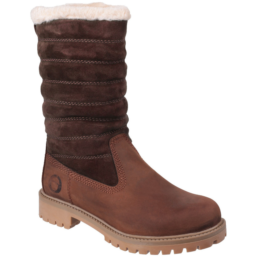 Cotswold Womens/Ladies Ripple Waterproof Leather Winter
