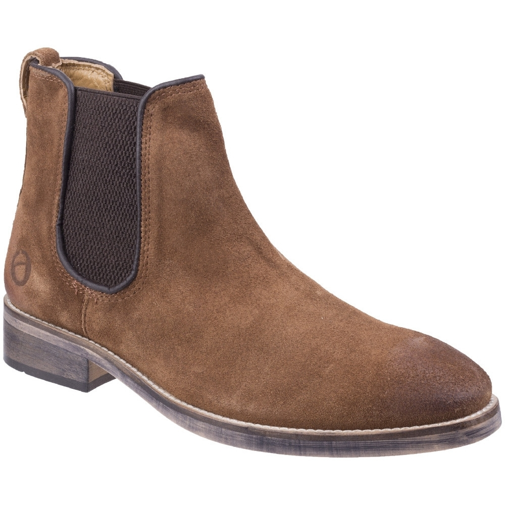 Cotswold Mens Corsham Town Leather Pull On Casual Chelsea Ankle Boots Uk Size 11 (eu 45  Us 12)