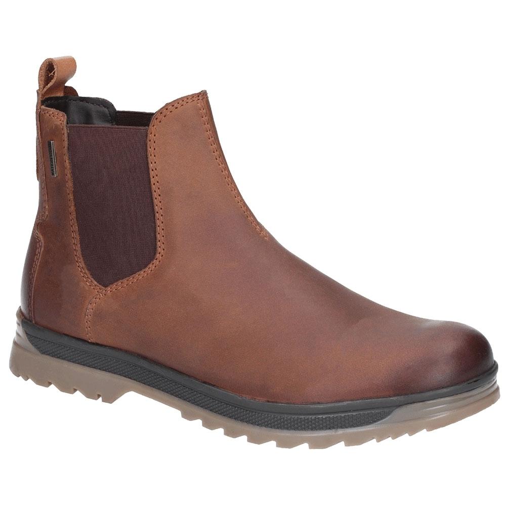 Cotswold Mens Siddington Commando Brogue Chelsea Ankle Boots Uk Size 7 (eu 41)