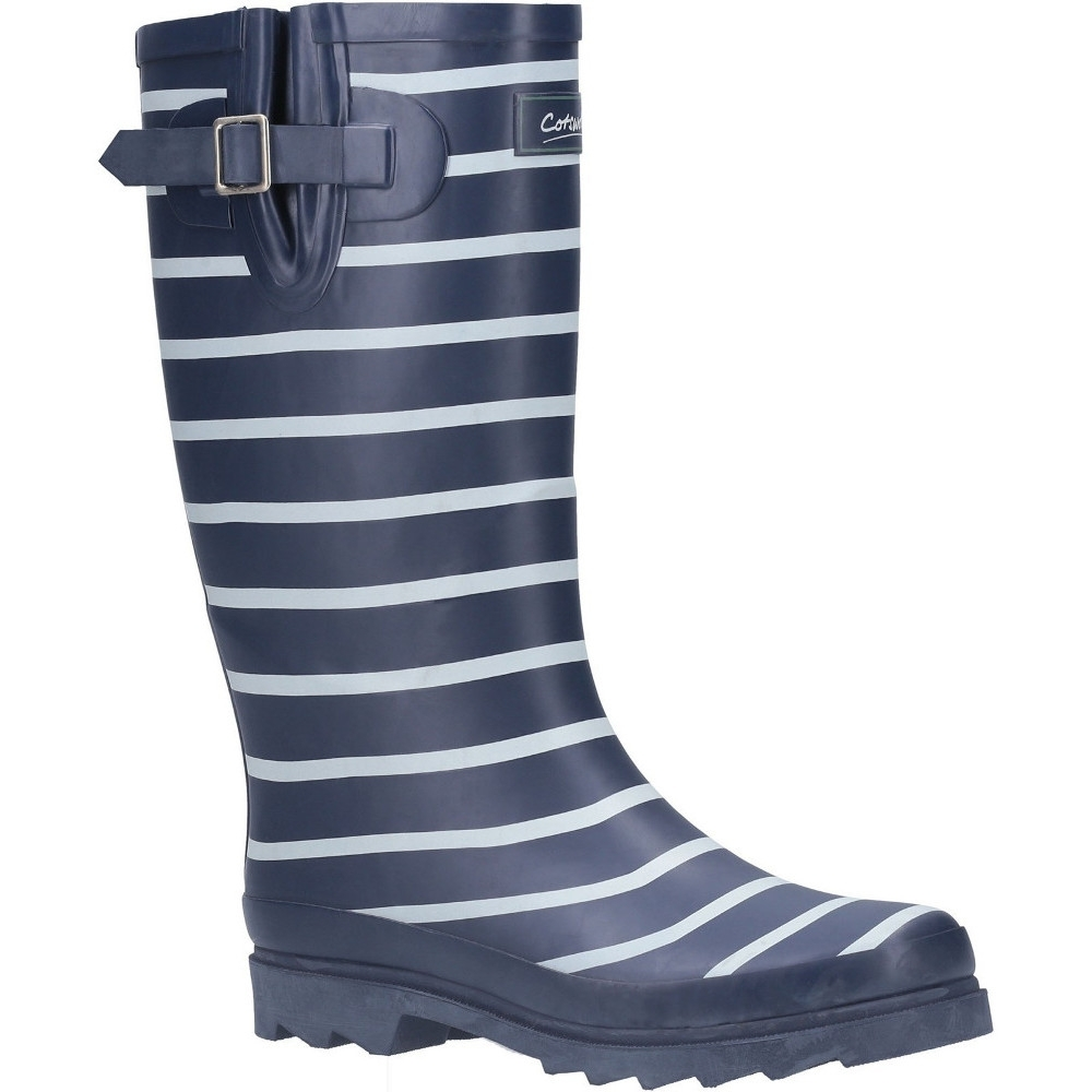 Cotswold Mens Windsor Pull On Buckle Welly Wellington Boots Uk Size 4 (eu 37)