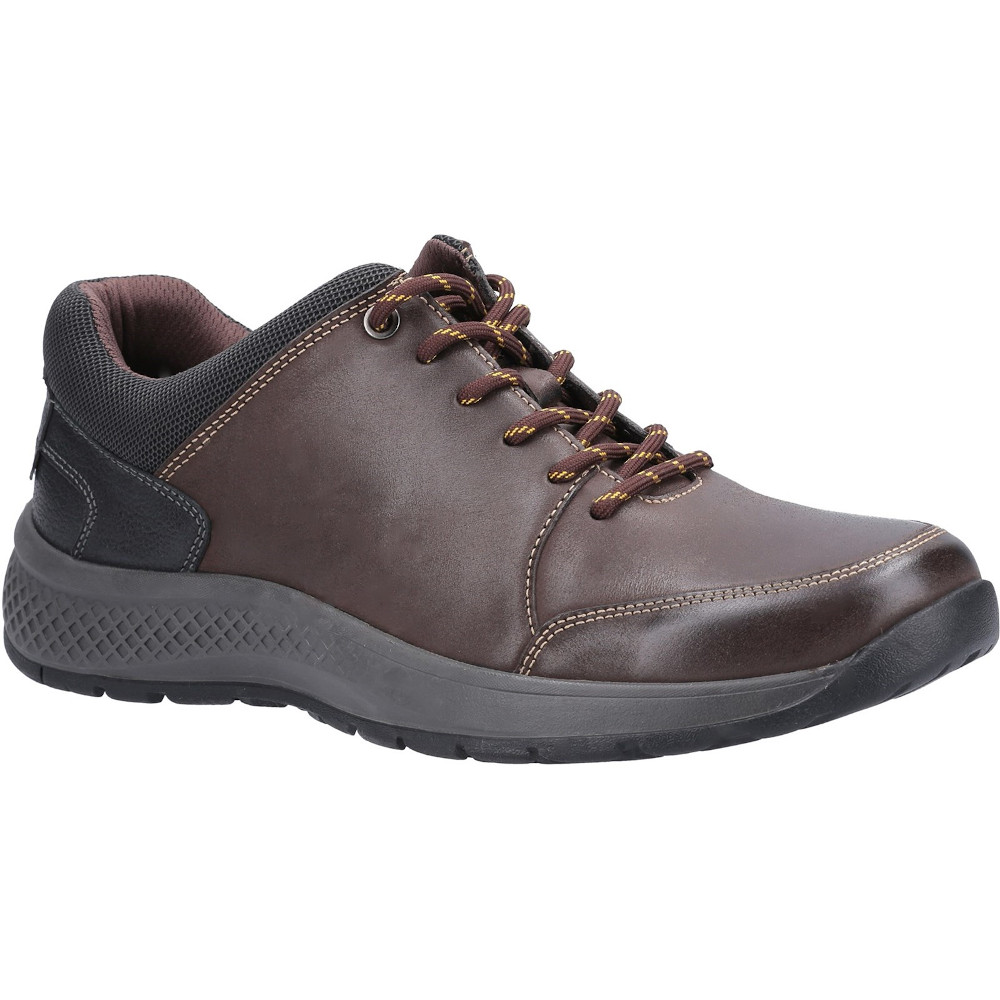 Cotswold Mens Rollright Leather Lace Up Casual Shoes Uk 7 (eu 41)