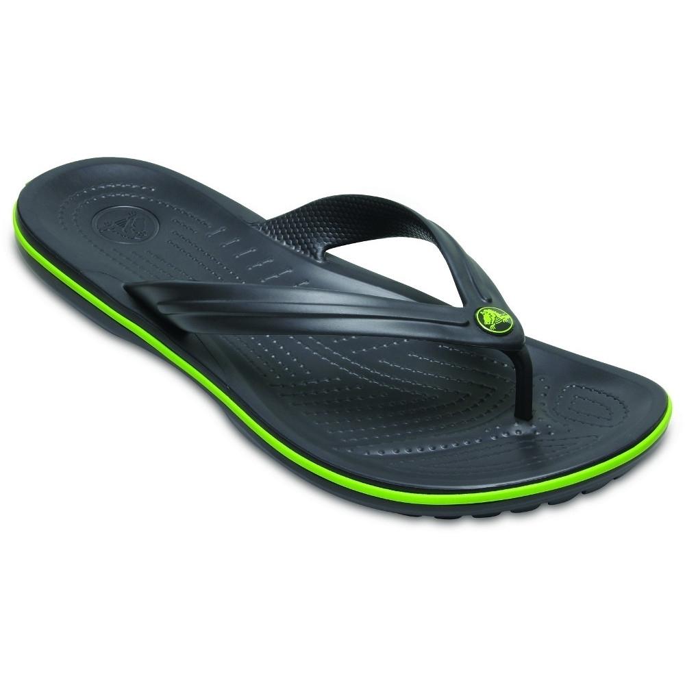 Image of Crocs Mens Crocband Flip Croslite Flip Flop Sandals UK Size 10 (EU 44/45)