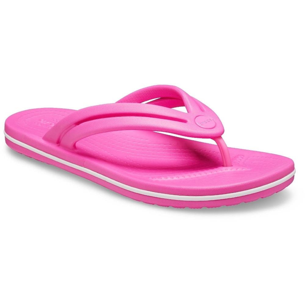 Crocs Womens Crocband Lightweight Slim Width Flip Flops Uk Size 3 (eu 34.5)