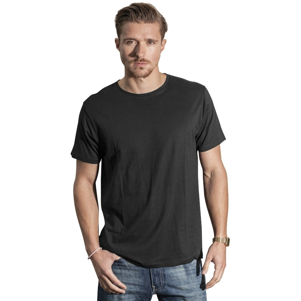 Image of Cotton Addict Mens Light Round-Neck Short Sleeve T Shirt M - Chest 41' (104.14cm)
